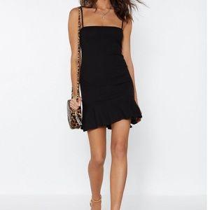 NWT Flip Em Off Mini Dress - Nasty Gal